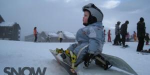 Дети на сноуборде