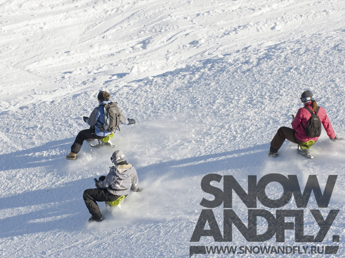 adaptive snowboarding