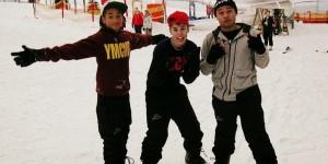 Джастин Бибер тоже сноубордист