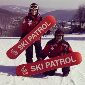 SnowboardSkiPatrol