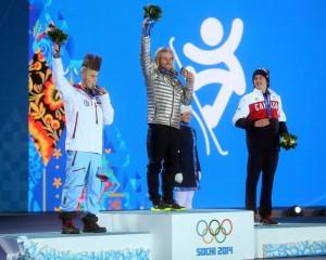 Финальные соревнования по сноуборду в слоупстайле на Олимпиаде-2014