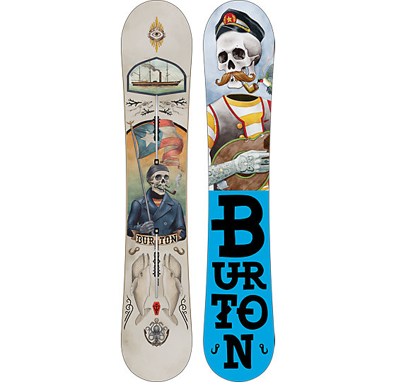 The White Collection Pro Snowboard 2013-2014