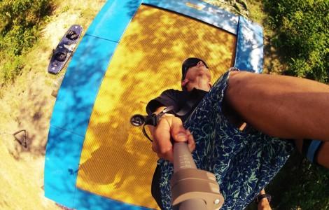 Летняя практика: батут