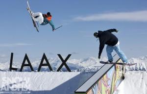 Laax Winter   NoName Park