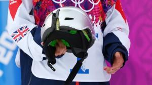 Sarko Pancochova cracked helmet 020914